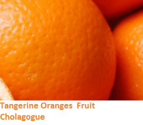 Health Benefits of Tangerine Oranges- Cholagogue