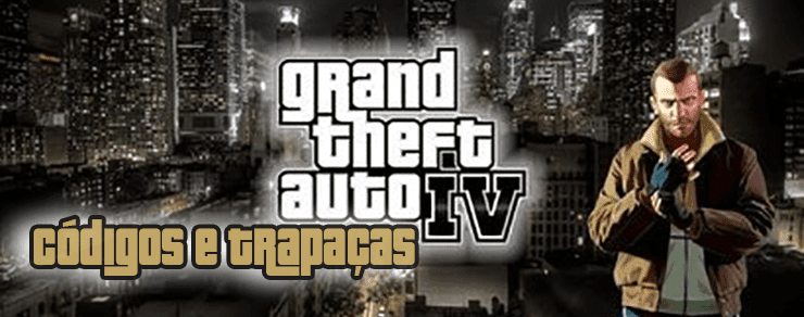 Códigos de trapaças para GTA 4