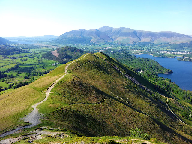Cat Bells, Catbells, walk, Keswick, Derwent Water, Lakes, Lake District, map, route, best views