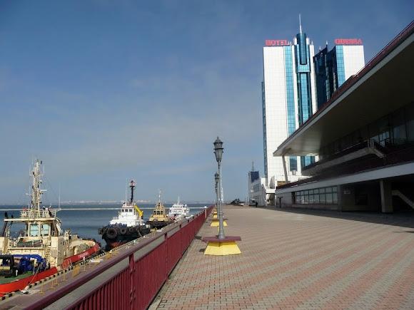 Одесса. Морской вокзал