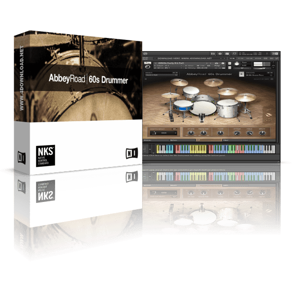 Native Instruments Abbey Road 60s Drummer KONTAKT Library