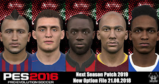 PES 2016 Next Season Patch 2019 New Option File 21-08-2018