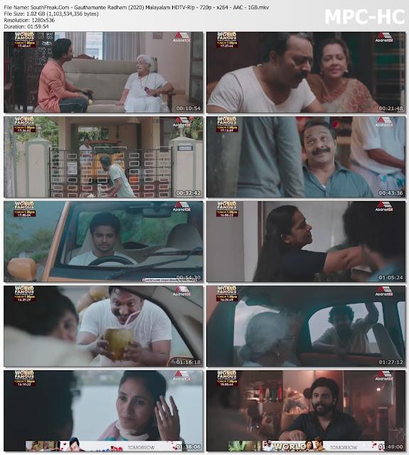 Gauthamante Radham 2020 Malayalam 720p TRUE HQ HDTV-Rip 1GB