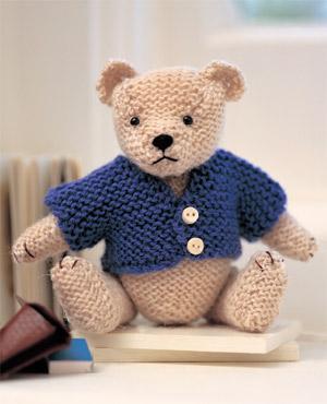 Catherine Knox studio: KNIT A TEDDY BEAR: FREE PATTERNS