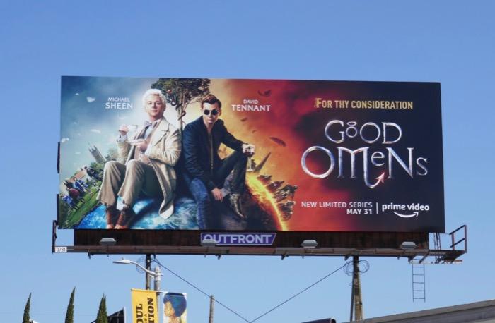Good Omens 2019 Emmy FYC billboard