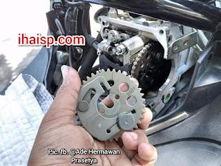 Mau Bikin Yamaha Lexi Makin Joss Tarikannya, Coba Gunakan Noken As Milik R15