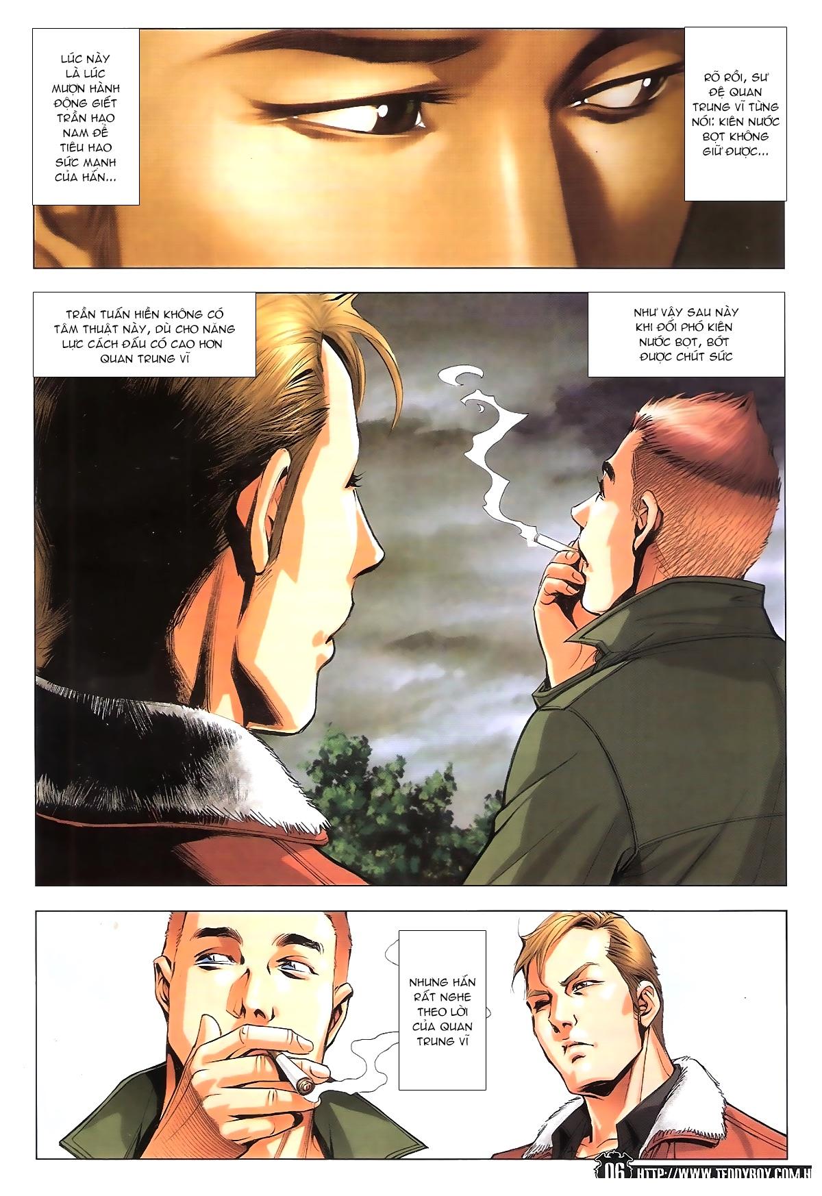 Người Trong Giang Hồ chapter 1787: hỏa thiêu trần hạo nam trang 5