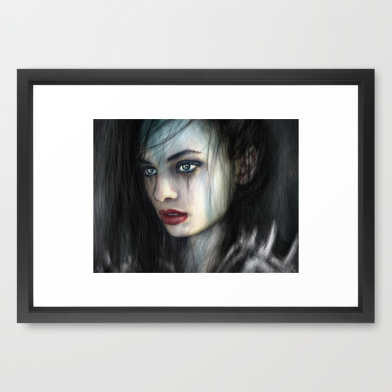 Framed prints from Society6