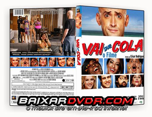 VAI QUE COLA – O FILME (2015) DVD-R CUSTOM