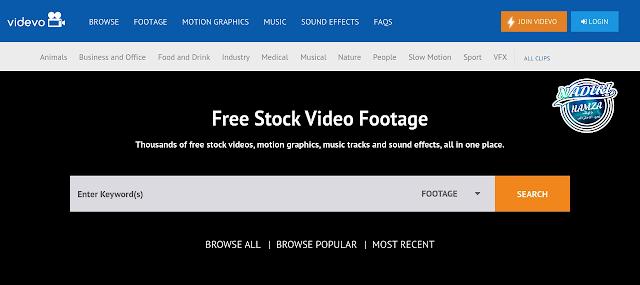 الحصول علي فيديوهات بدون ترخيص او حقوق ملكيه