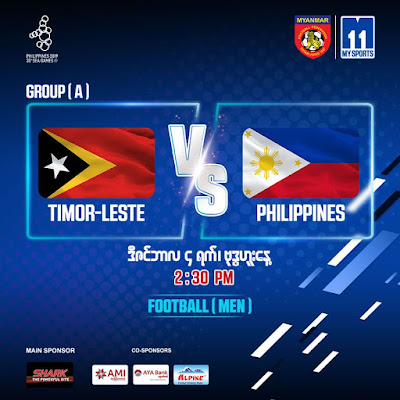 Live Streaming Timor Leste vs Philippines (SEA GAMES) 4.12.2019