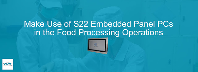 Ensure efficiency in your food production operations with the S22 Panel PC device. These machines are durable and reliable for all your operational needs.