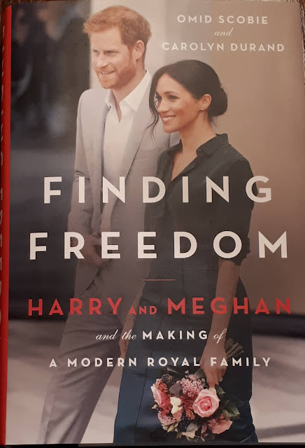 My copy of the Prince Harry and Meghan Markle biography arrived today. Just a little behind the rest of the world! Nobody talk to me for two days whilst I read the stuff that hasn't already been revealed in the media.