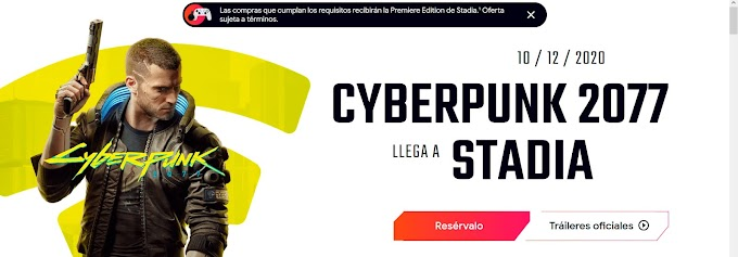 Google gives you a Stadia Premium pack when you buy Cyberpunk 2077
