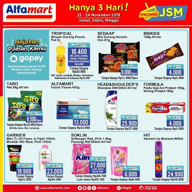 #Alfamart - #Promo #Katalog JSM Weekend 22 - 24 November 2019