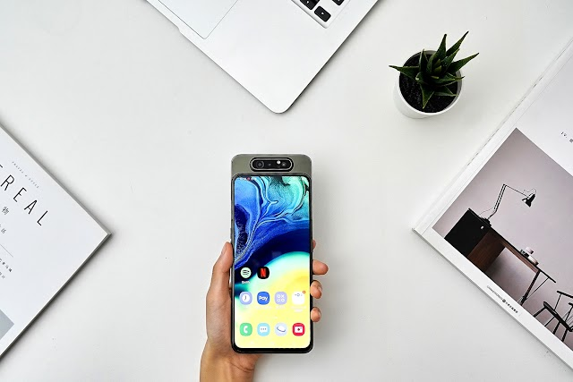 lifting rotary camera is more pulling the wind? Samsung Galaxy A80 to get started