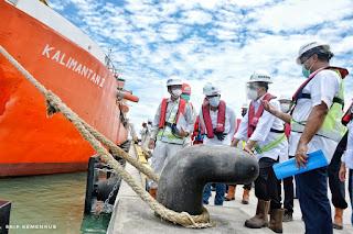 Dermaga Pelabuhan Patimban Sudah Terbangun  92 % dan Bisa Disandari Kapal Besar