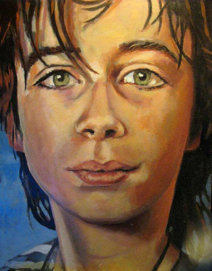 Нидерландская художница. Anne Eijsten