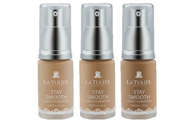 La Tulipe Stay Smooth Liquid Foundation