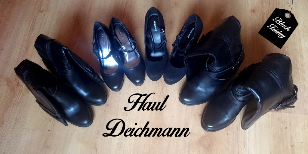 Haul Deichmann Black Friday zapatos