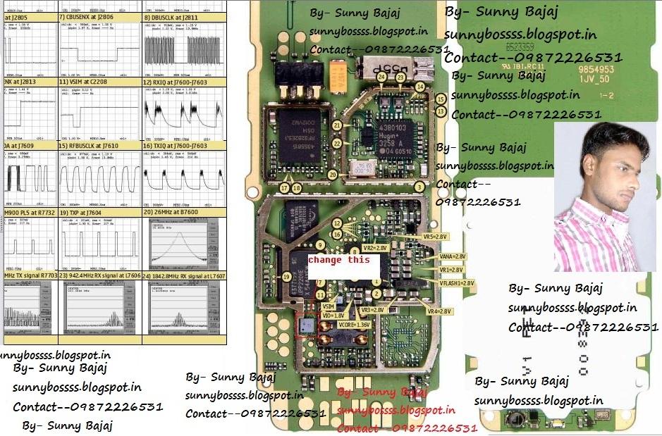 Sunny Bajaj  Nokia 1110 Keypad Ways Diagram