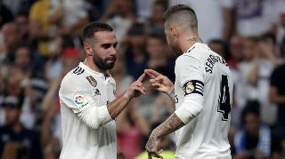 Real Madrid hero Ramos and Carvajal will miss the clash against Alaves