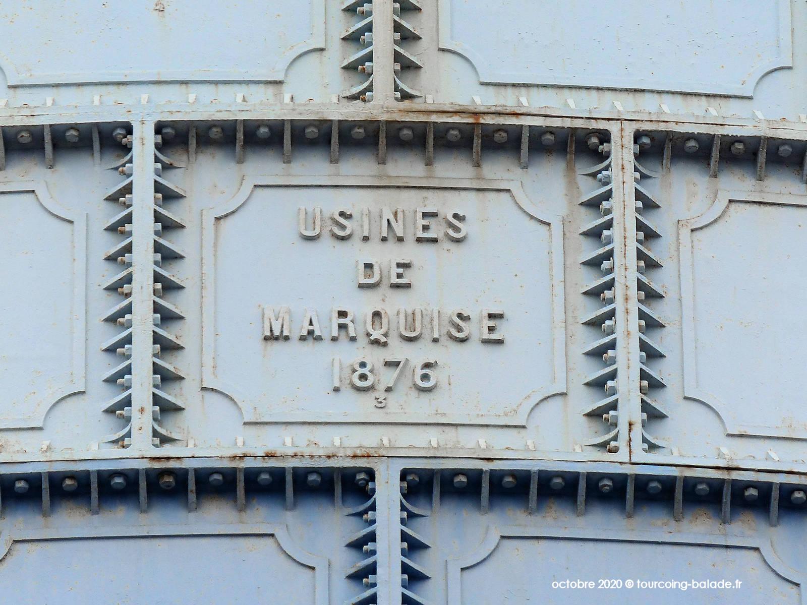 Usines de Marquise, 1876, Roubaix 2020