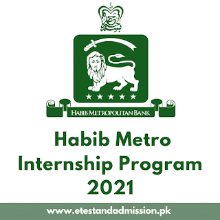 Habib Metro Internship Program 2021