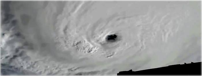 furacão Matthew visto do espaço pela Estação Espacial Internacional