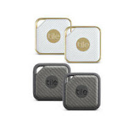 Tile Pro Bluetooth Waterproof Smart Locator Tags Style or Sport - 2 Pack