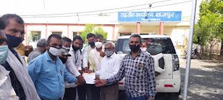 मुख्यमंत्री और कलेक्टर के नाम भारतीय किसान संघ में 3 सूत्री मांग को लेकर दिया ज्ञापन
