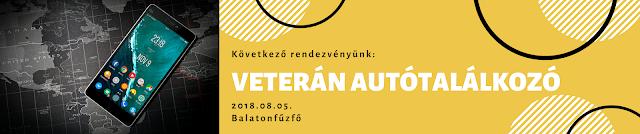 Következő rendezvényünk - Veterán autótalálkozó