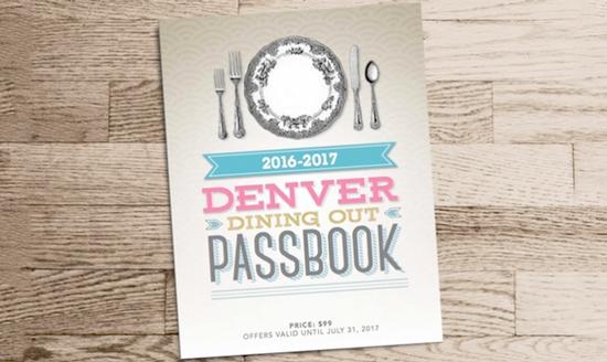 Denver Dining Passbook