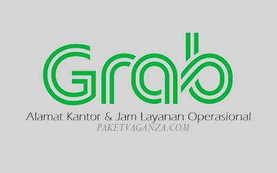 Alamat Kantor Grab dan Jam Layanan Operasional 24 Jam