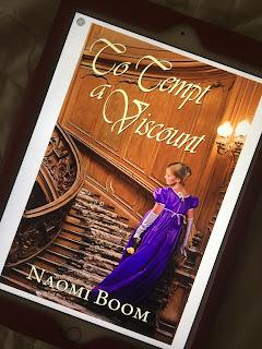 to tempt a viscount, naomi boom, book, series, romance, historic, regency