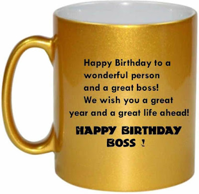 Happy Birthday Boss Quotes