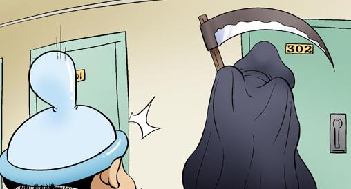 Kim Chi & Củ Cải (bộ mới) phần 351: Tử thần gõ cửa
