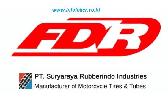 Lowongan Kerja FDR Tire PT Suryaraya Rubberindo Industries 2021