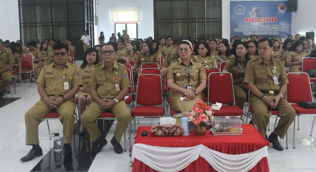 Raih Penghargaan dari Kementerian PAN-RB, Pemkab Sitaro gelar Ibadah Syukur