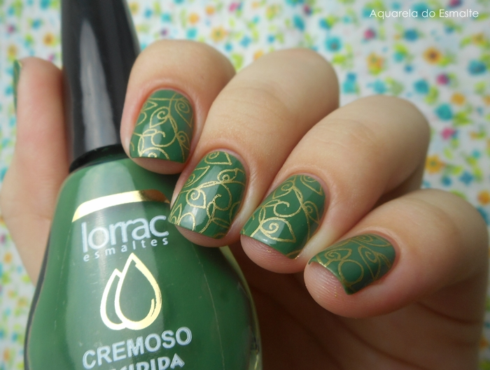 Esmalte Lorrac - Decidica + Placa Sugar Bubbles 018