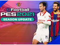 HANYA 984MB!! PES 2021 PPSSPP Android Graphic Ultra HD Faces & Full latest Transfer