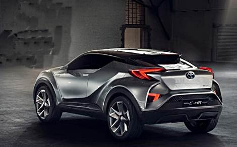 2018 TOYOTA C-HR REDESIGN