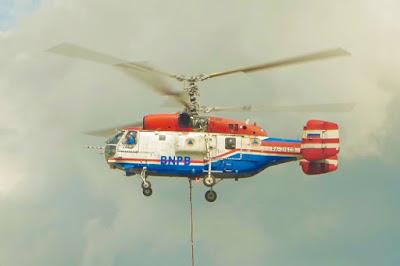 Tiga Helikopter dan Dua Pesawat Sudah Standby di Riau