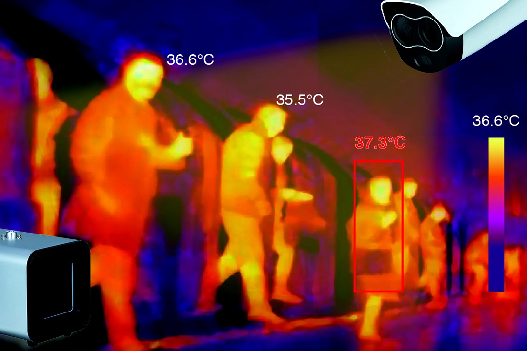Solucion de cámaras térmicas termográficas ayudan a combatir avance del COVID-19