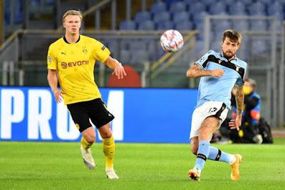 ملخص واهداف مباراة لاتسيو وبروسيا دورتموند (3-1) في دورى أبطال أوروبا