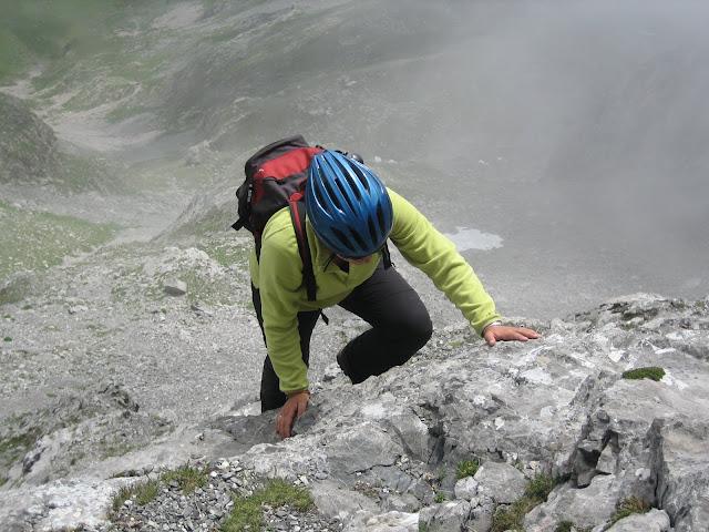 Rutas Montaña Asturias: Trepada en el Siete
