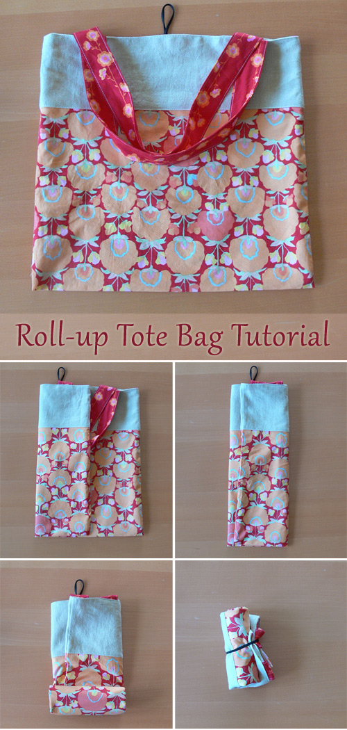 Tutorial: Roll-Up Tote Bag
