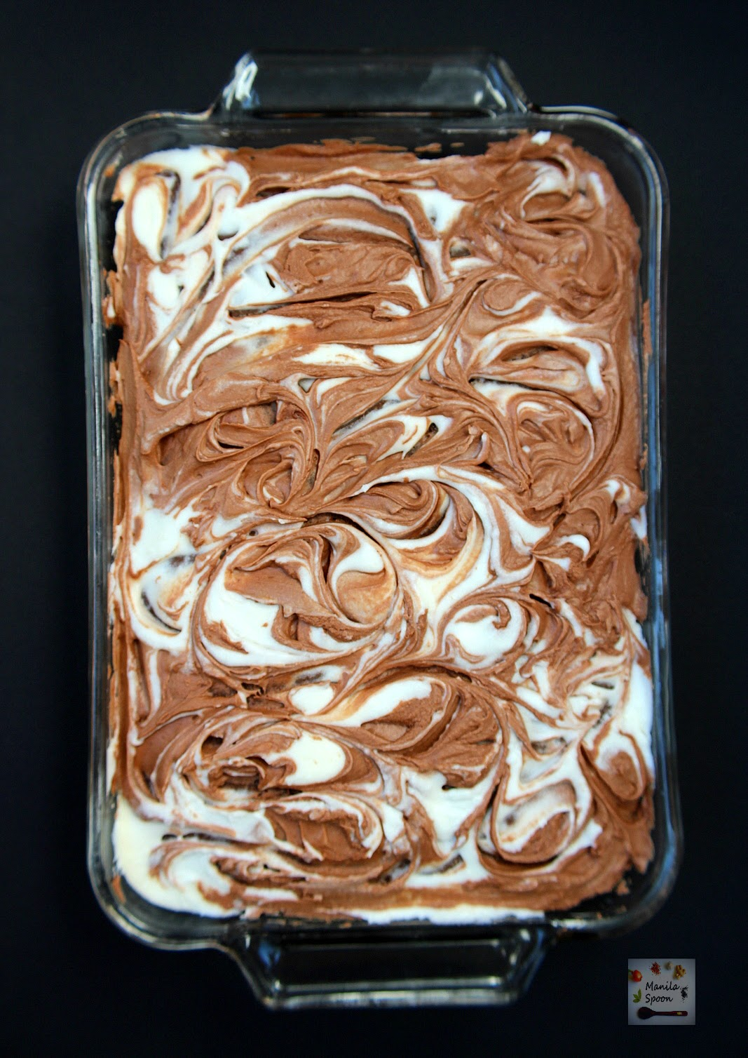 Chocolate Orange Swirled Cake