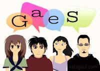 Gaes, guys, ges, bahasa gaul, inggris