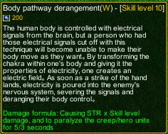 naruto castle defense 6.0 Stunade Body Pathway Derangement detail